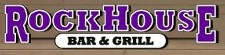 Rock House Bar & Grill Logo