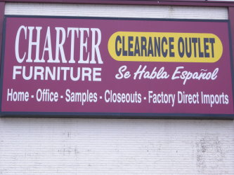 Charter Furniture Outlet Store in Dallas TX Dallas