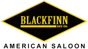 BlackFinn American Saloon Addison Bars Logo