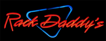 Rack Daddy's Pool Hall Logo