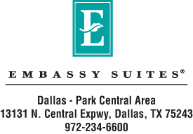 Embassy Suites Dallas Park Central Area Logo