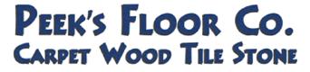 Peek's Carpet & Tile Dallas Logo